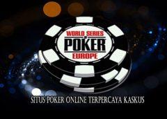 Situs Poker Online Terpercaya Kaskus