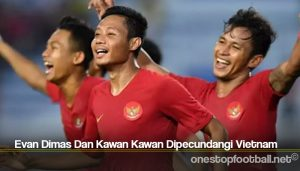 Evan Dimas Dan Kawan Kawan Dipecundangi Vietnam