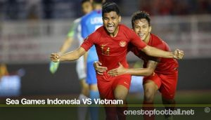 Sea Games Indonesia VS Vietnam