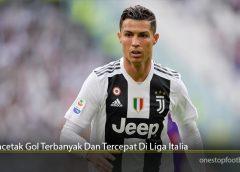 Pencetak Gol Terbanyak Dan Tercepat Di Liga Italia